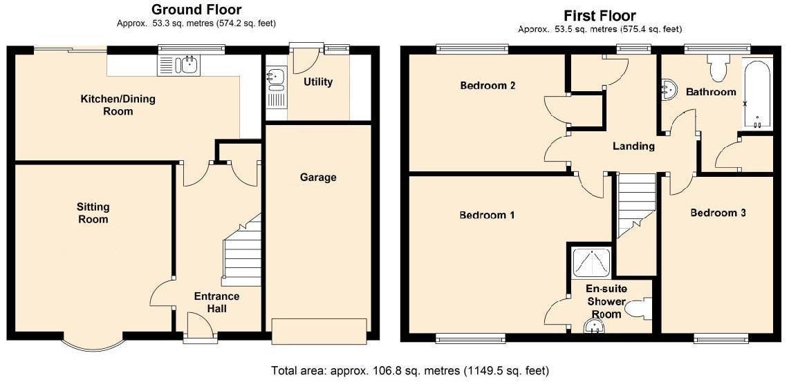 Floor plan East Road, Isleham, Ely